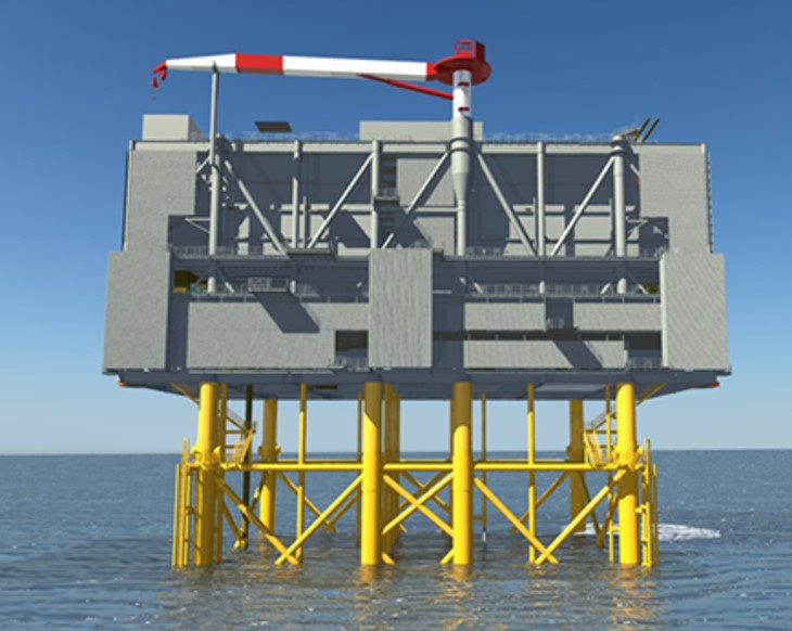 Offshore <span>converter</span> station