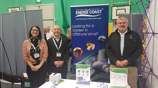 Supporting Energi Coast at Catterick Armed Forces career event